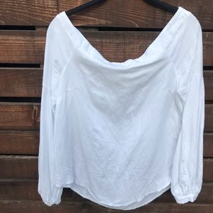 Maeve from Anthropologie Off the Shoulder Blouse